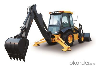 Changlin Brand Backhoe Loader 630A with 1.0CBM Bucket