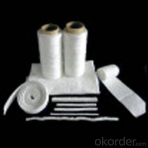 Ceramic Fiber  Twisted Rope in 3-PlyManufactured from Ceramic Fiber Yarn