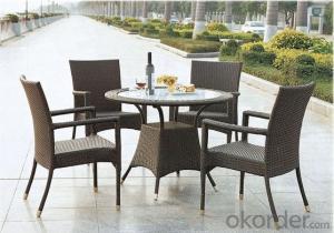 Cast Aluminum Dining Table Set Garden Table