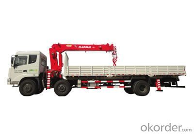 Changlin Brand Truck Mounted Crane with 8ton capactiy SQ8
