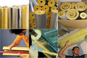 Rock wool For High Quality Mandrel Wound Pipe Insulation