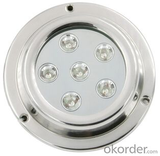 Led High Grade Waterproof Light for Under Fresh Water and Sea Water  with UD119G-18W