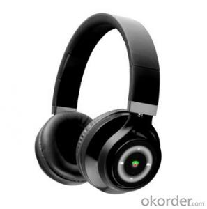 Bluetooth Headphone Black Latest Bass Sound