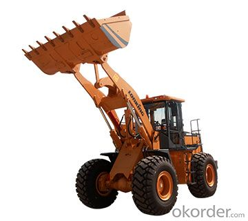 LONKING Brand Wheel Loader CDM833D with 1.7CBM Bucket