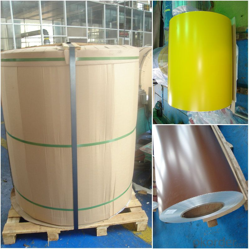 Aluminum roll materials  PVDF color coating