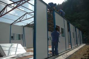 Sandwich Panel Prefabricated House for Temporary Usage
