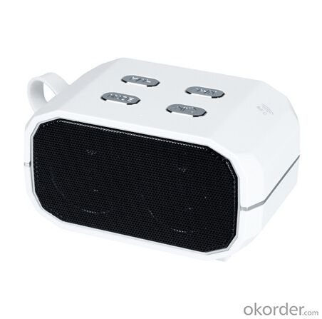 Bluetooth Speaker with FM &TF Card Nfc Function White