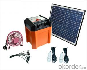 SOLAR  POWER SYSTEM   +Built-in battery +USB