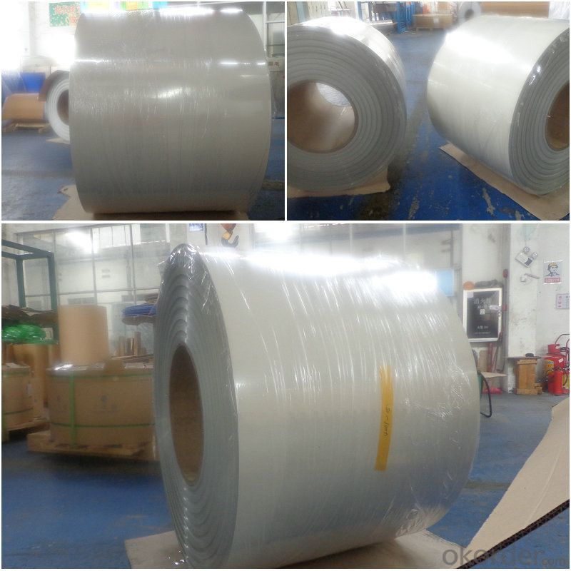 aluminium alloy metal rolls PE beige color coating
