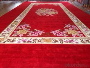 Hand Tufted Carpet, Customized Wool Carpet for Hotel Use