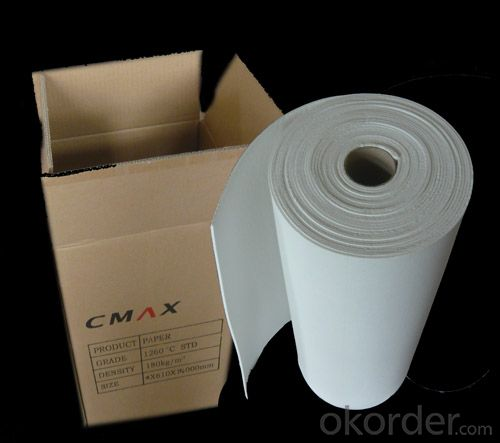 Ceramic Fiber Paper in 0.5mm to 10mm thickness