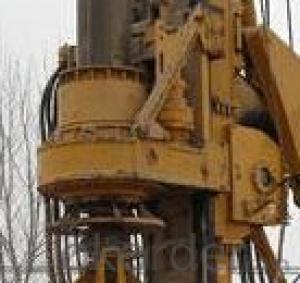 SERIE OTR820D OTR HYDRAULIC PILING RIG MACHINE