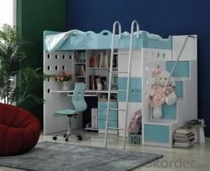 Modern Wooden Kids Bedroom Furniture Bed