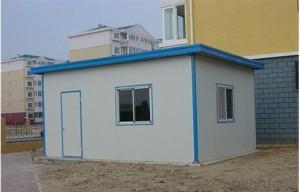 Prefabricated House Decorative Sandwich Panel One Bedroom Small Prefab Houses