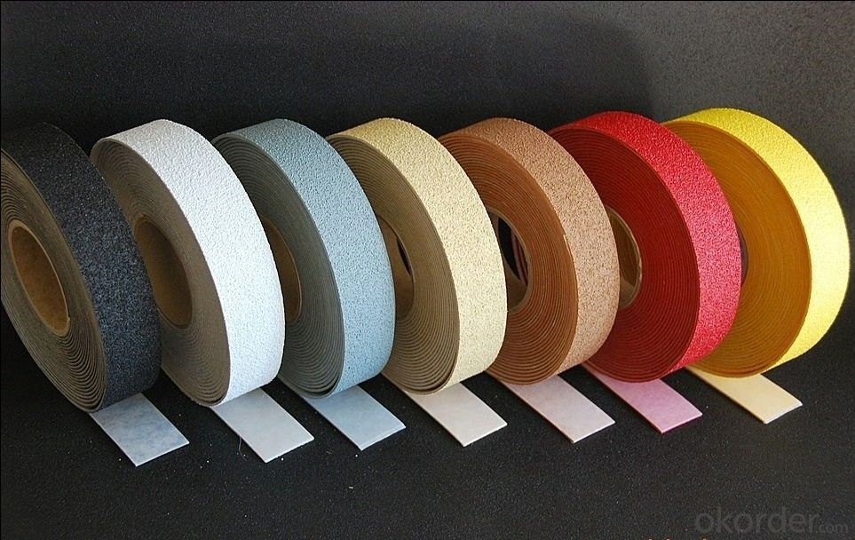 Anti-slip Tape with Red Corundum Anti-skid Sand