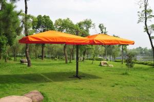Outdoor Patio Metal Cantilever Garden Umbrella