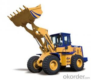LONKING Brand Wheel Loader CDM860 with 3.5CBM Bucket