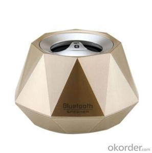 Stereo Wireless Bluetooth Speaker Christmas Diamond Shape