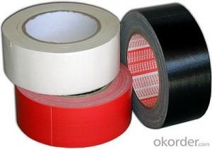 Custom Made Red Cloth Tape Double Sided Wholesale