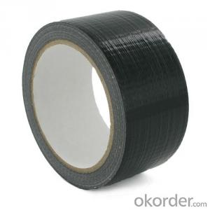 Black Cloth Tape Double Sided Custom Made for Wrapping