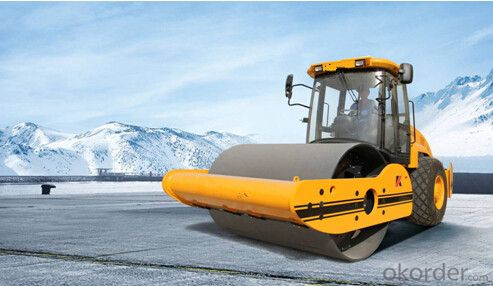 mall Vibratory Road Roller with full hydraulic for Sale KS142D