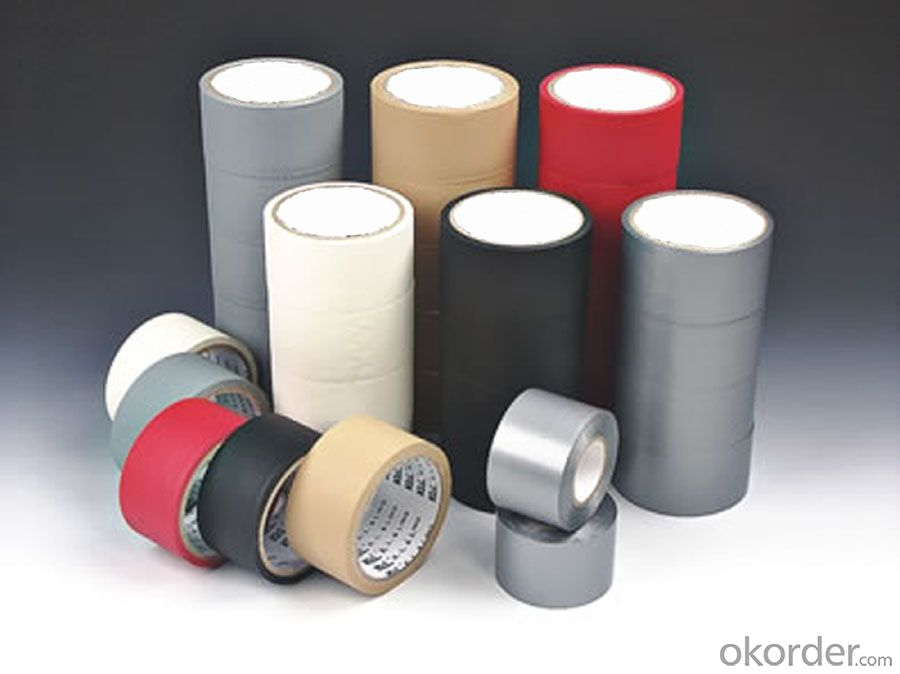Colorful Polyethylene Cloth Tape Double Sided Custom Made for Packing