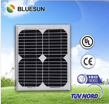 Monocrystalline Silicon Solar Modules 10Watt