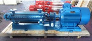 Boiler Feed Centrifugal Multistage Water Supply Pump with High Pressure