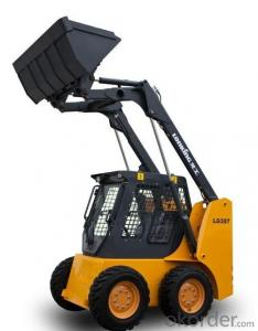 LONKING Brand Skid Steer Loader CDM307 with 752Kg Rated Load