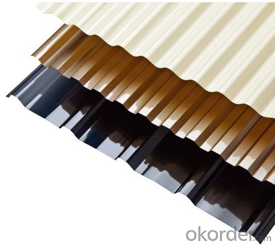 CMAX Medium Wave Corrugated PC  Roofing Sheet