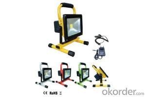 High-quality Rechargeable LED Work Light Tempered Glass Cover