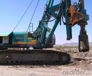 SERIE OTR520D OTR HYDRAULIC PILING RIG MACHINE
