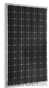 Monocrystalline Solar  module Black SM572-200W