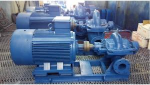 Horizontal Single Stage Double Suction Centrifugal Water Pump