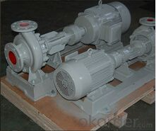 Chemical Pump for Hot Temperature Food Oil