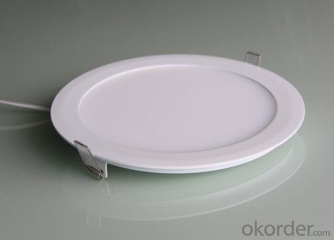 LED Mini Panel Light Round Shape Dia-casting Aluminum