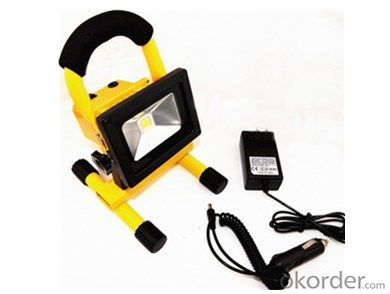 10W Rechargeable LED Work Light High-quality