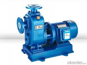 ZX Series Self-priming Centrifugal Pumps With Good Performance