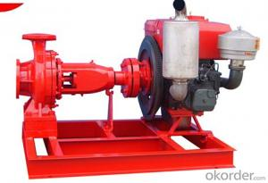 Industrial Diesel Driven Water Pump Unit for High Flowrate