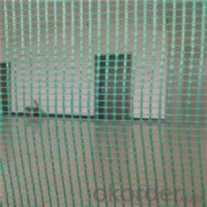 Fiberglass Mesh Fabric Reinforcing the Wall