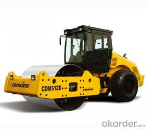 LONKING Brand Single Drum Road Roller CDM512D