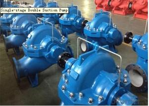 Single Stage Double Suction Centrifugal Water Pump for Pump Station
