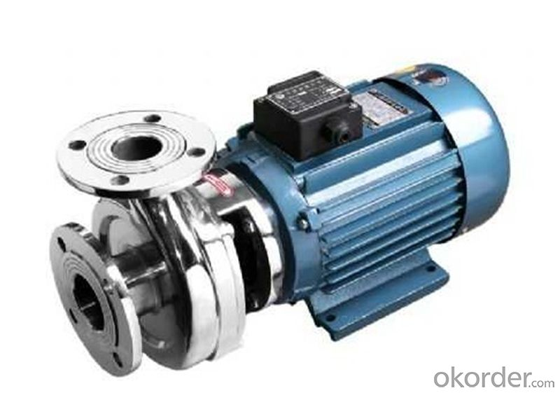 IS Single-stage End-suction Centrifugal Pumps