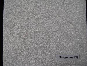 Classic Design of PVC Laminated Gypsum Ceiling 595*595mm