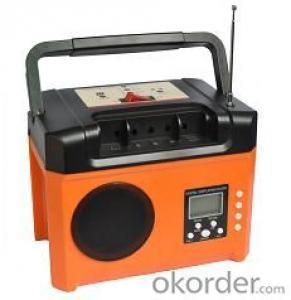 SOLAR  POWER SYSTEM  +FM RADIO +Built-in battery +USB