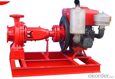 Electric Jocky Water Pump for Firefighting Application