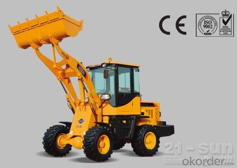 construction machine Haihong CTX950 wheel loader, cheap wheel loader
