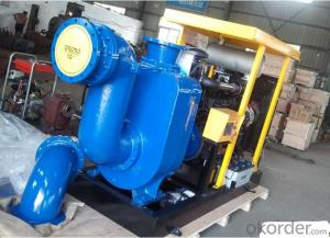 Centrifugal Water Pump with Diesel Engine for High Pressure