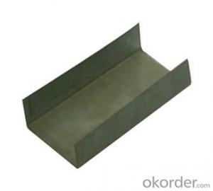 U - Shaped Steel  Matierial of Good Quality