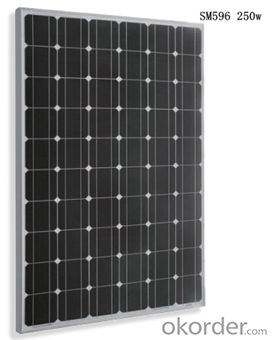 Monocrystalline Solar  Module SM596 250w